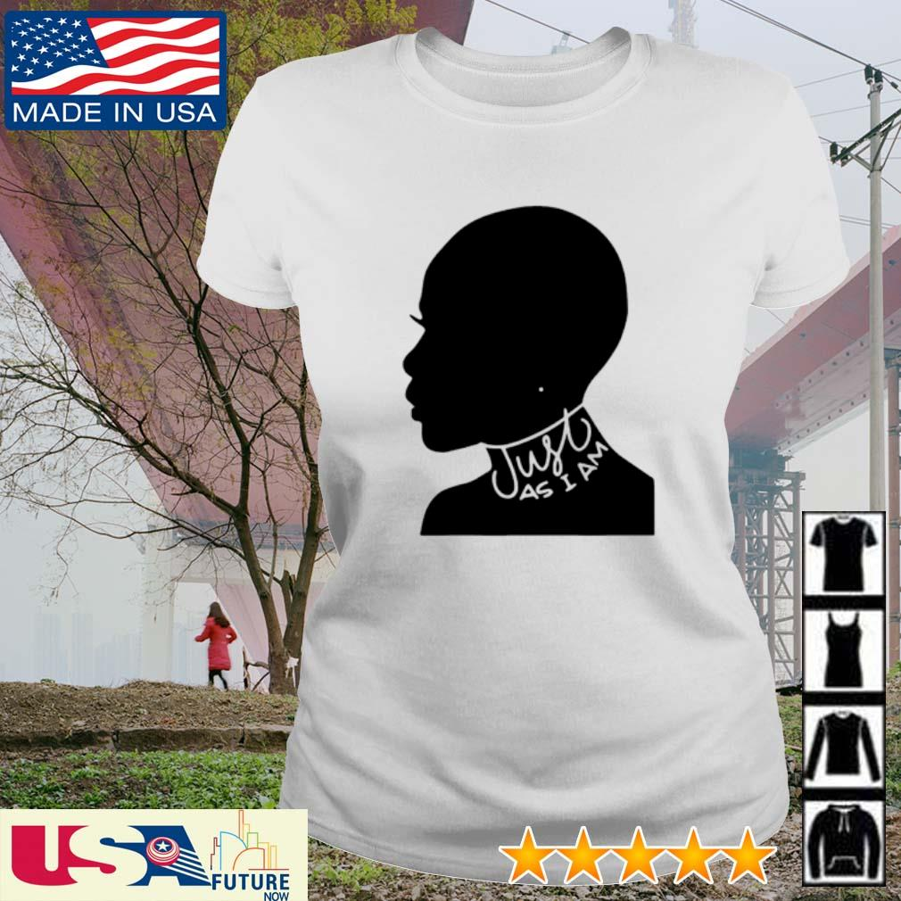 Black women just as I am s ladies-tee