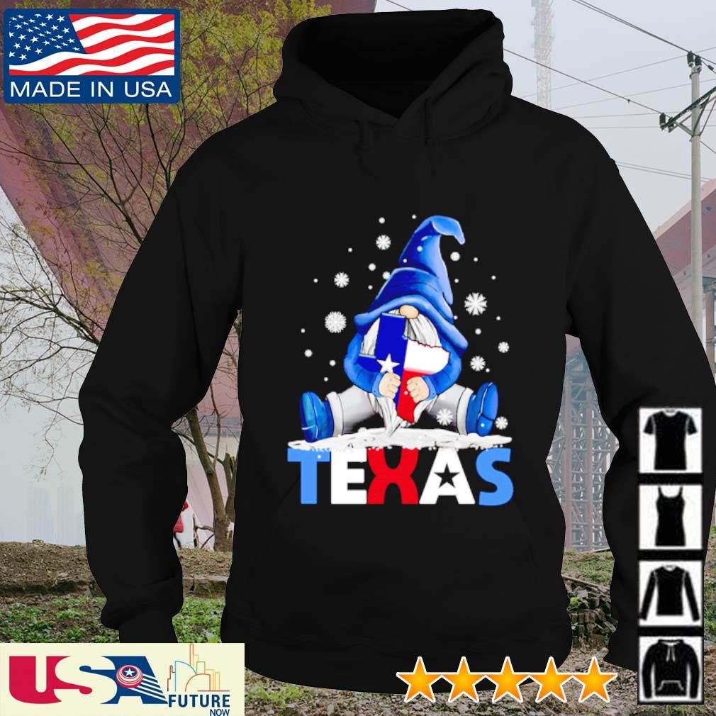 Gnome hug Texas Snovid s hoodie