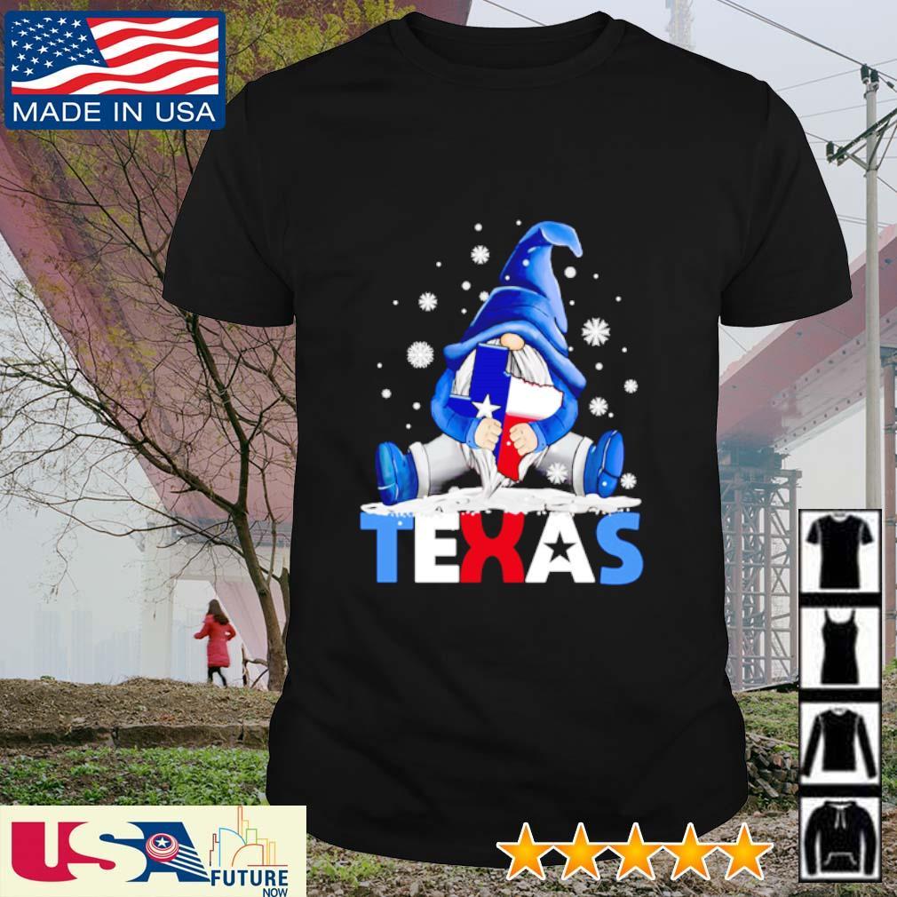 Gnome hug Texas Snovid shirt