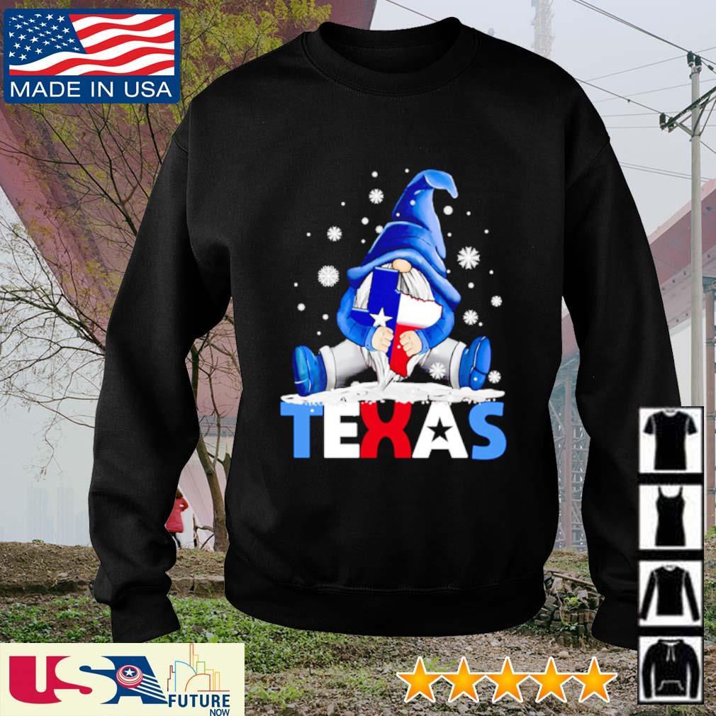 Gnome hug Texas Snovid s sweater