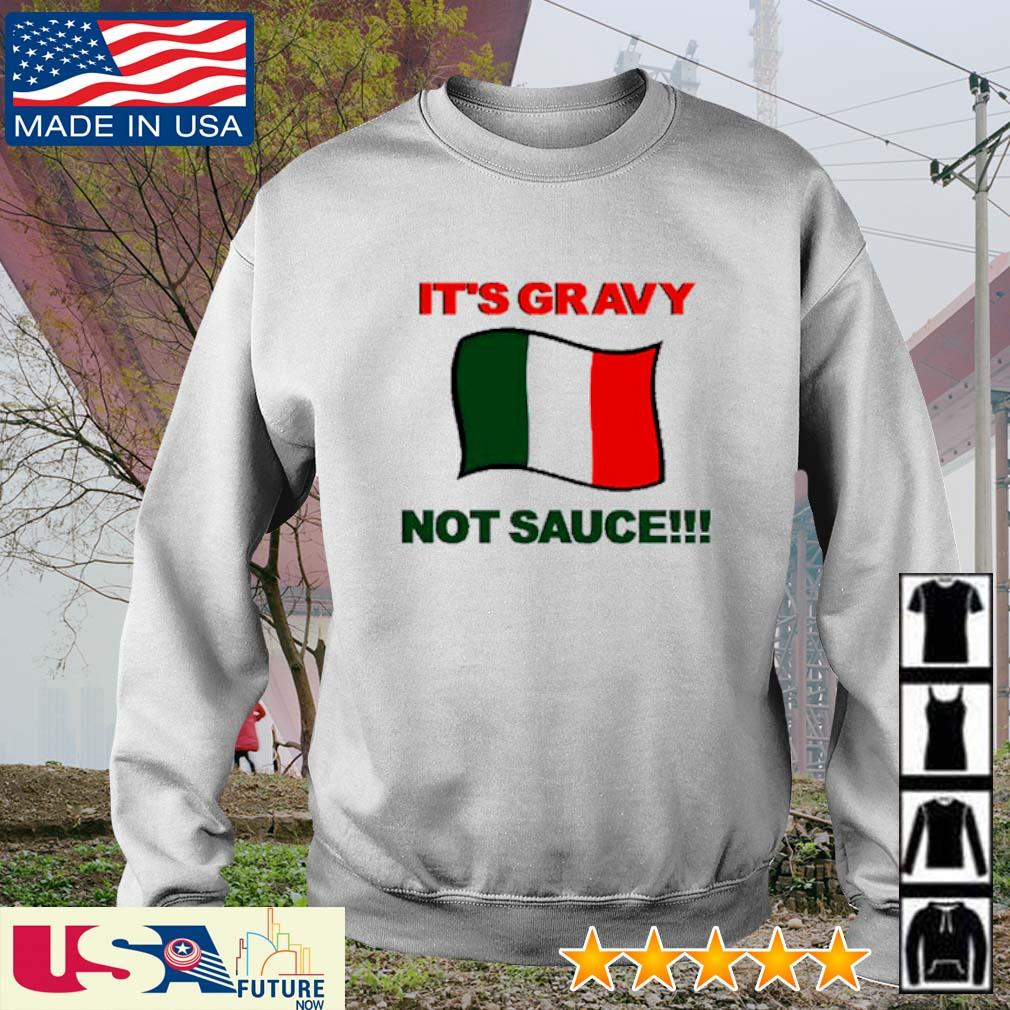 It's sauce not gravy Italy s sweater