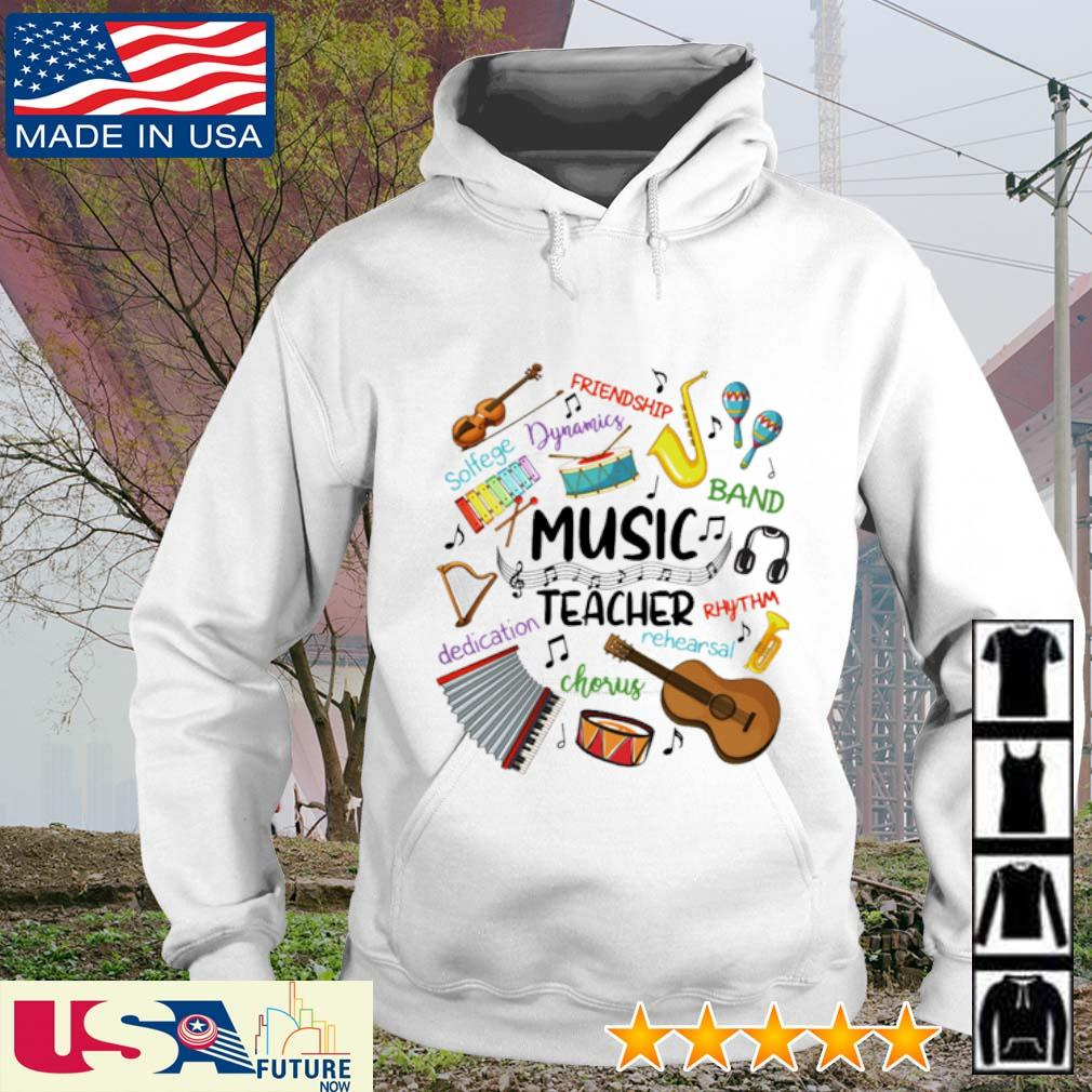 Music Teacher friendship dynamics solfege band rhythm chorus dedication s hoodie