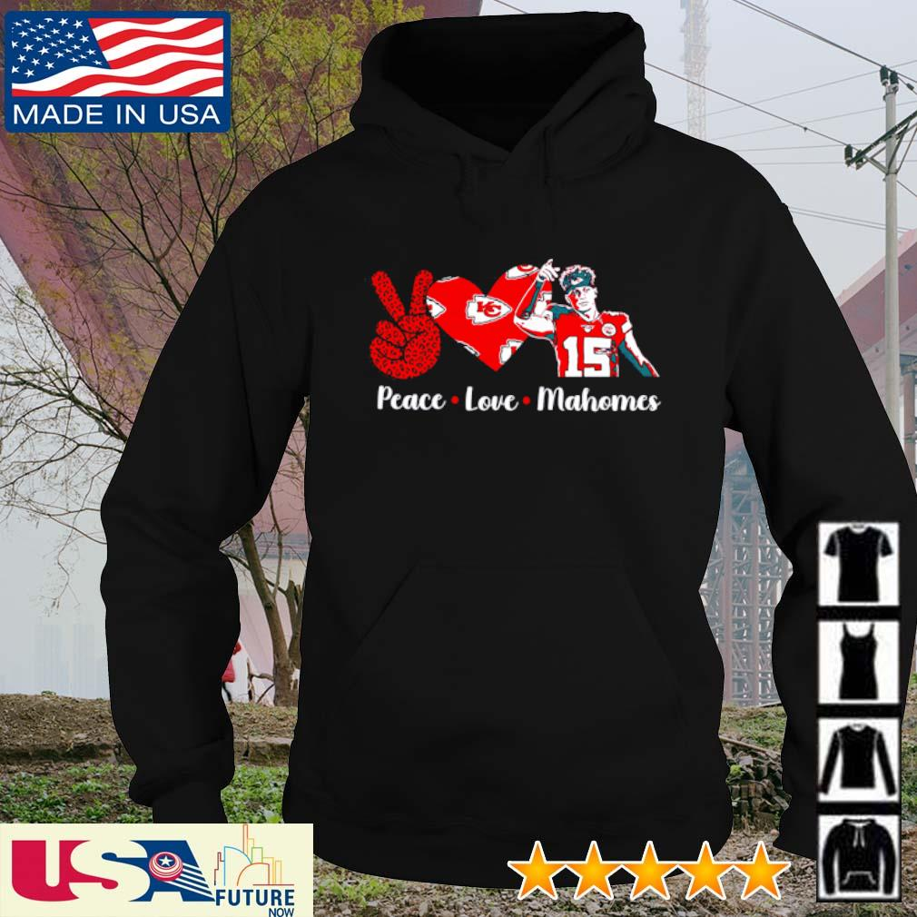 Peace Love Mahomes Kansas City Chiefs s hoodie