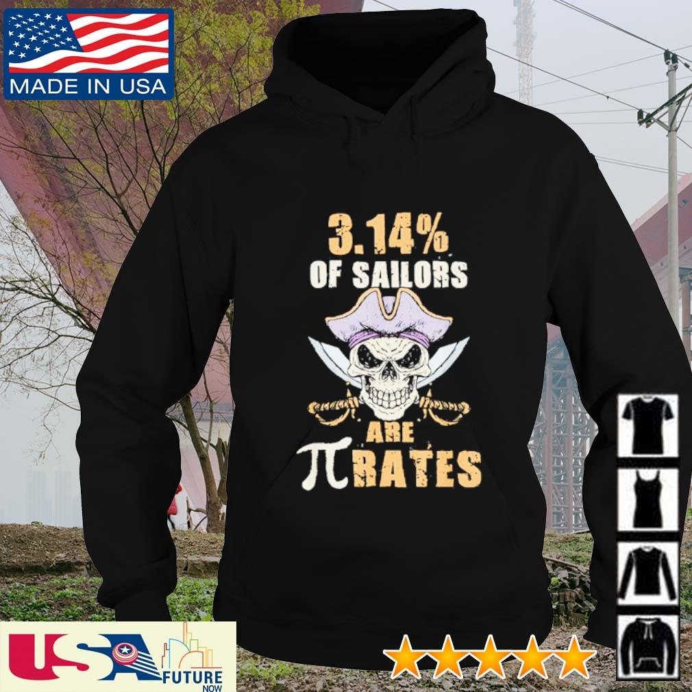 3.14 Pi of sailors are rates skull s hoodie