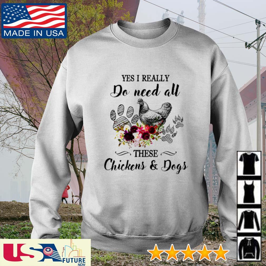 Awesome yes I really do need all these Chickens and Dogs s sweater