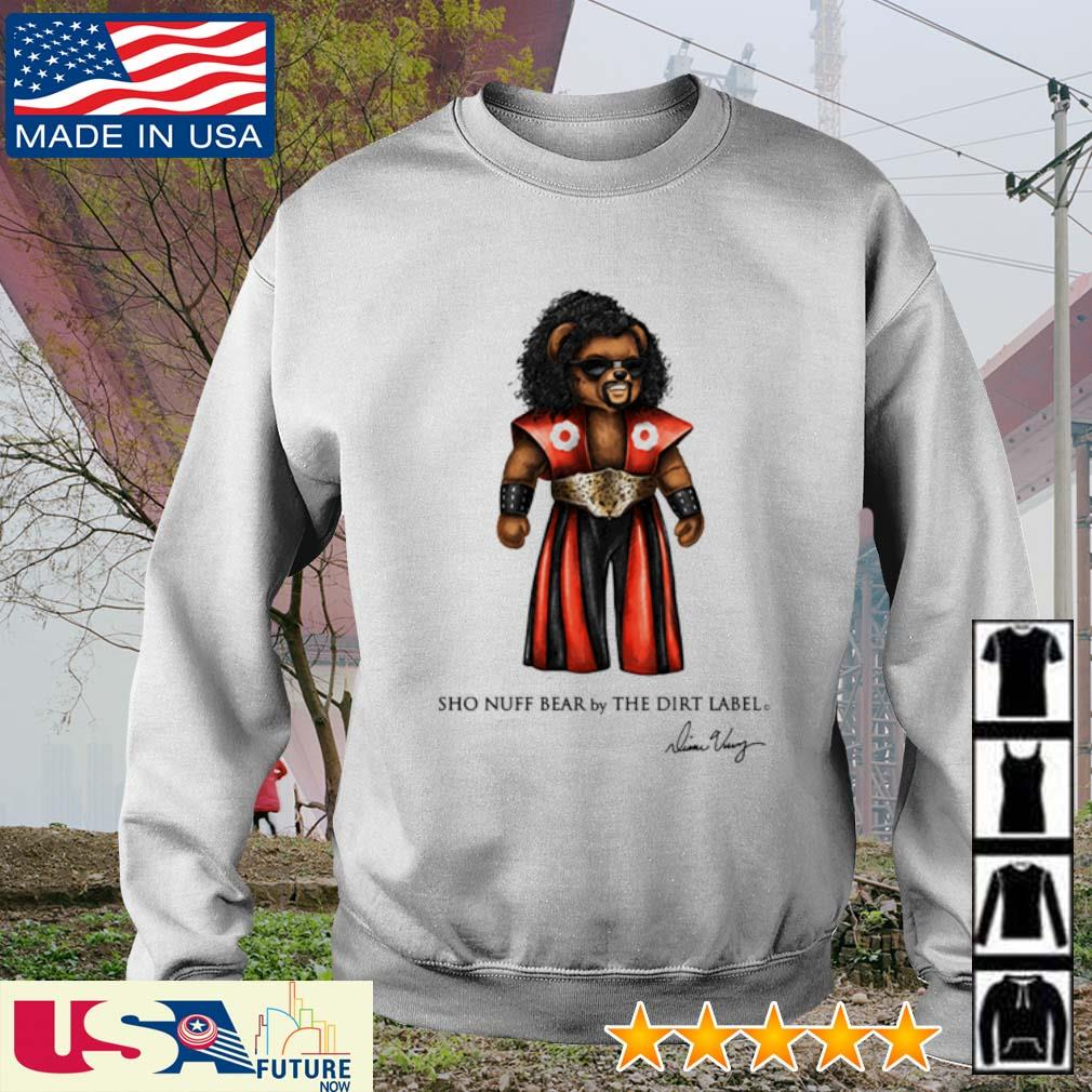 Bear sho nuff bear by the dirt label signatures s sweater