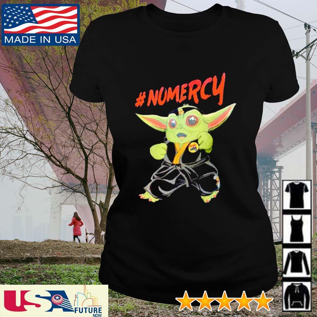 Cobra Kai Baby Yoda #Nomercy s ladies-tee