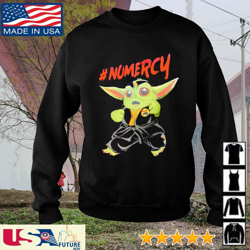 Cobra Kai Baby Yoda #Nomercy s sweater