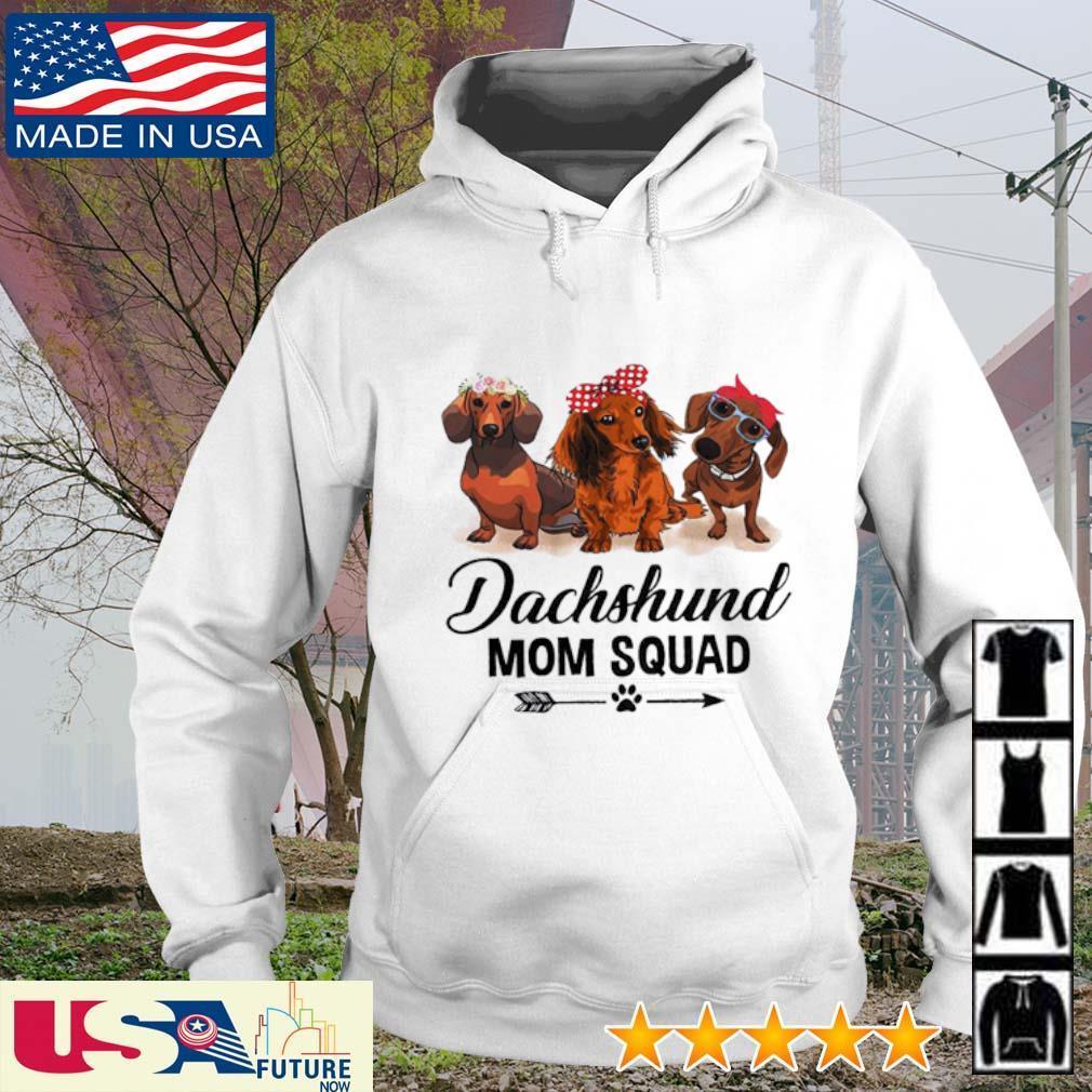 Dachshund mom squad s hoodie