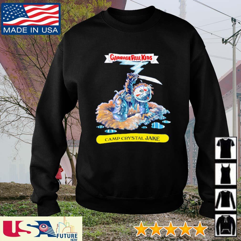 Garbage Pail Kids Camp Crystal Jake s sweater