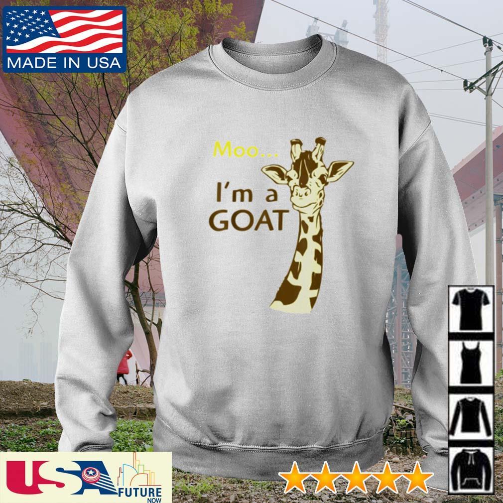 Giraffe Moo I'm a Goat s sweater