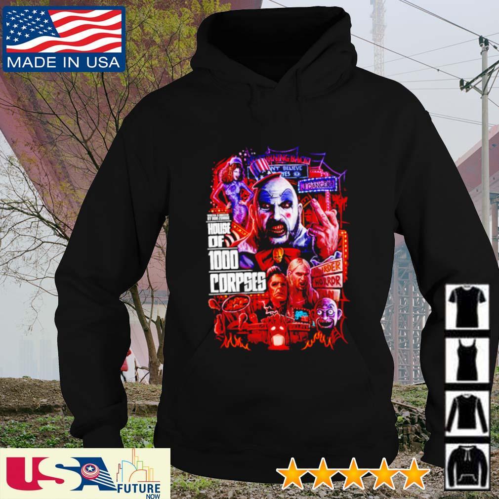 House of 1000 Corpses Horror Nights s hoodie