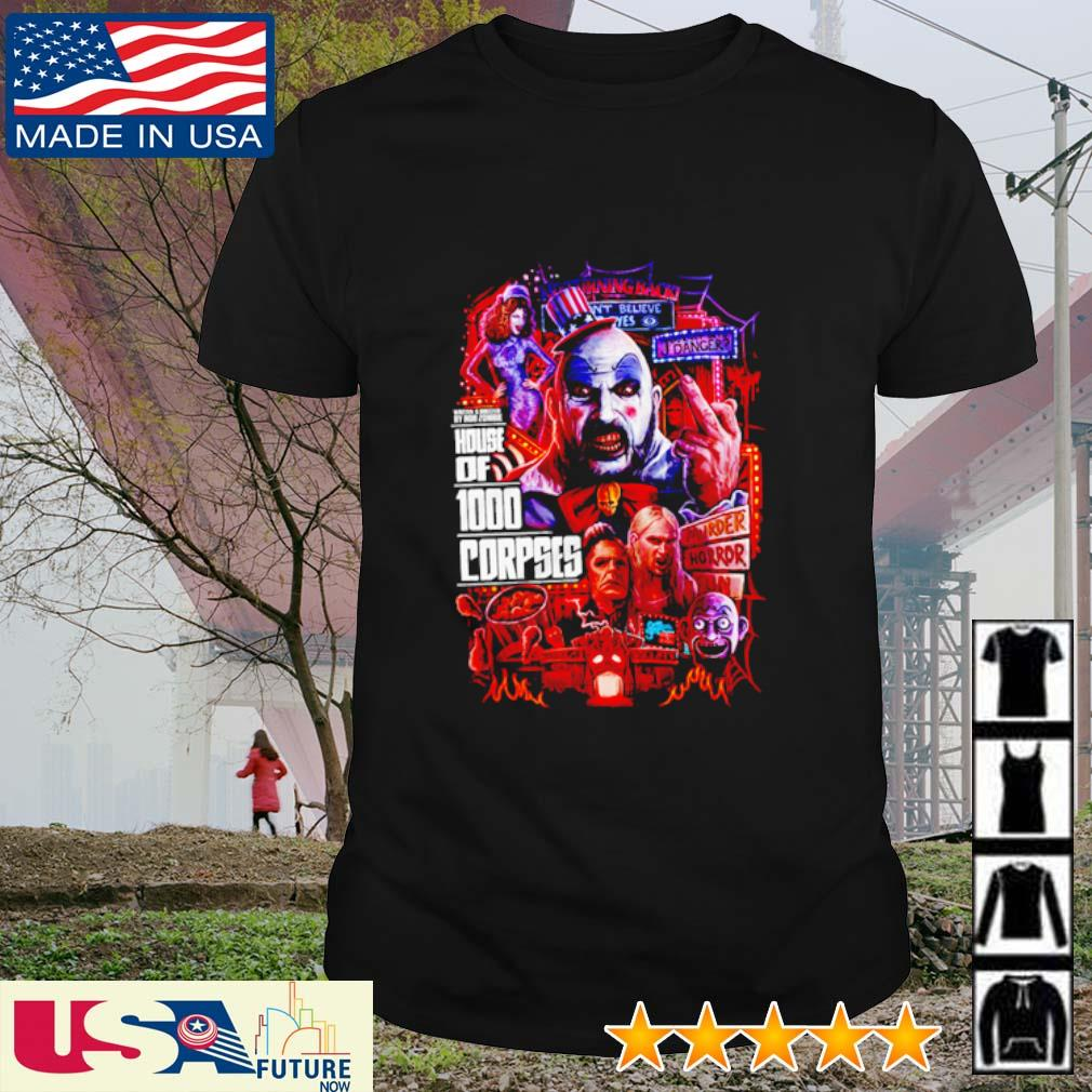 House of 1000 Corpses Horror Nights shirt