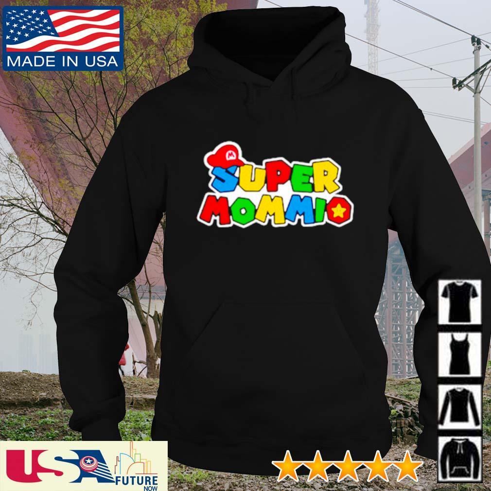 Mario super mommio s hoodie