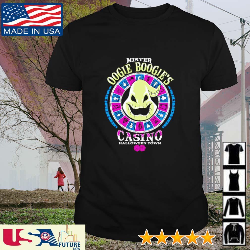 Mister Oogie Boogie's Casino Halloween Town shirt