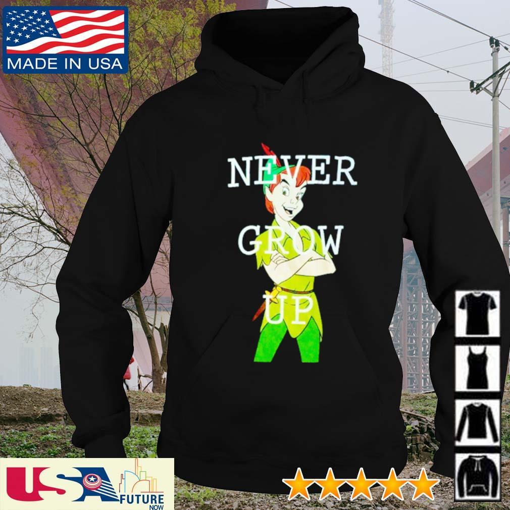 Peter Pan never grow up s hoodie