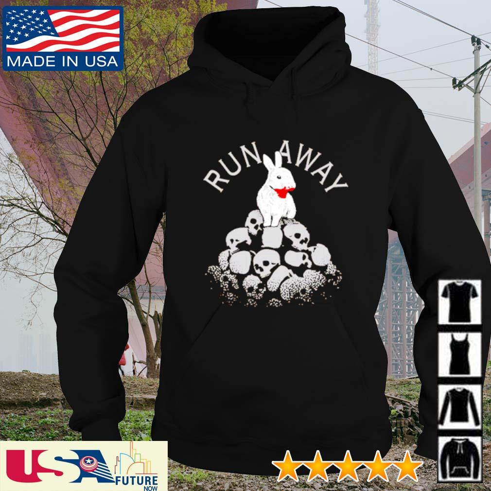 Rabbit run away Skull s hoodie