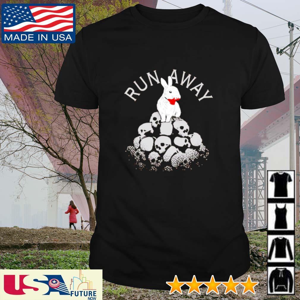 Rabbit run away Skull shirt