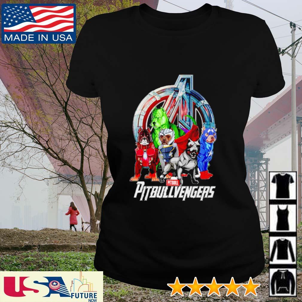 Super Hero PitBull Pitbullvengers Avengers s ladies-tee