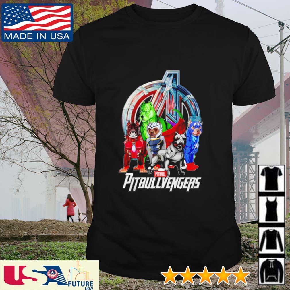 Super Hero PitBull Pitbullvengers Avengers shirt