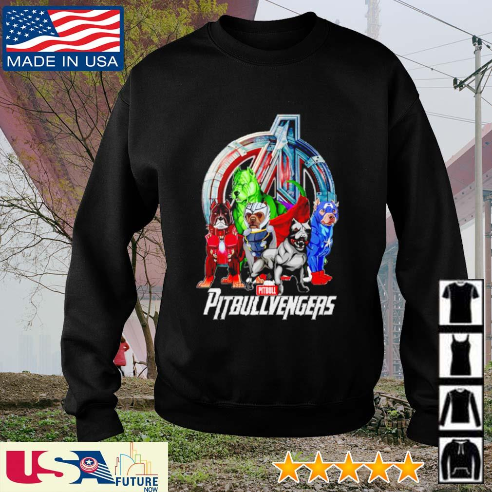 Super Hero PitBull Pitbullvengers Avengers s sweater
