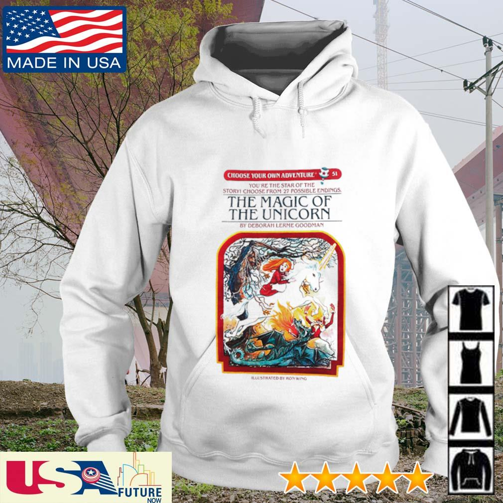 The magic of the unicorn by deborah lerme goodman s hoodie