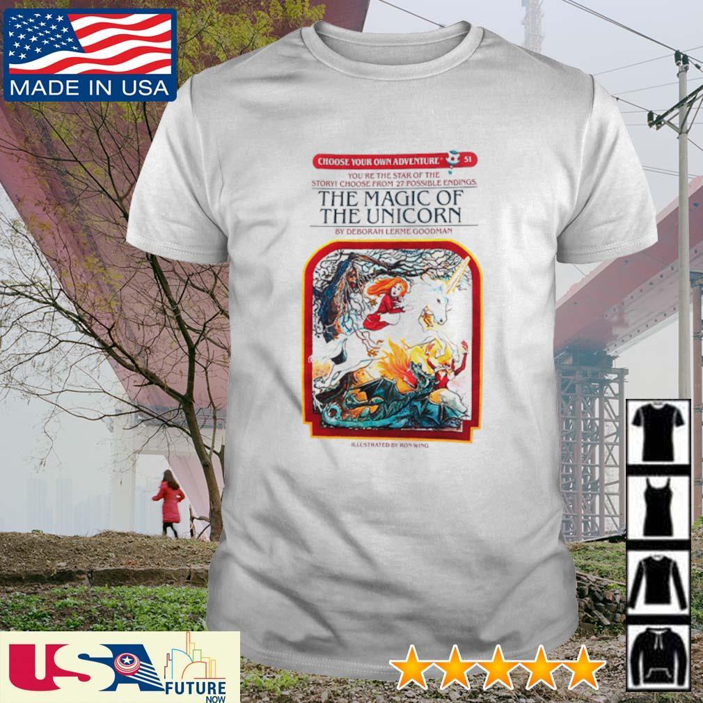 The magic of the unicorn by deborah lerme goodman shirt