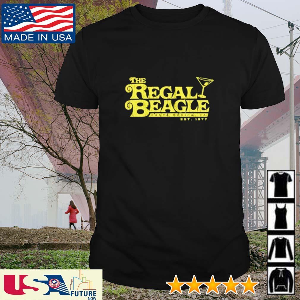 The regal beagle est 1977 shirt