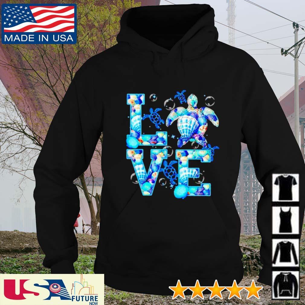Awesome Turtle Love hoodie