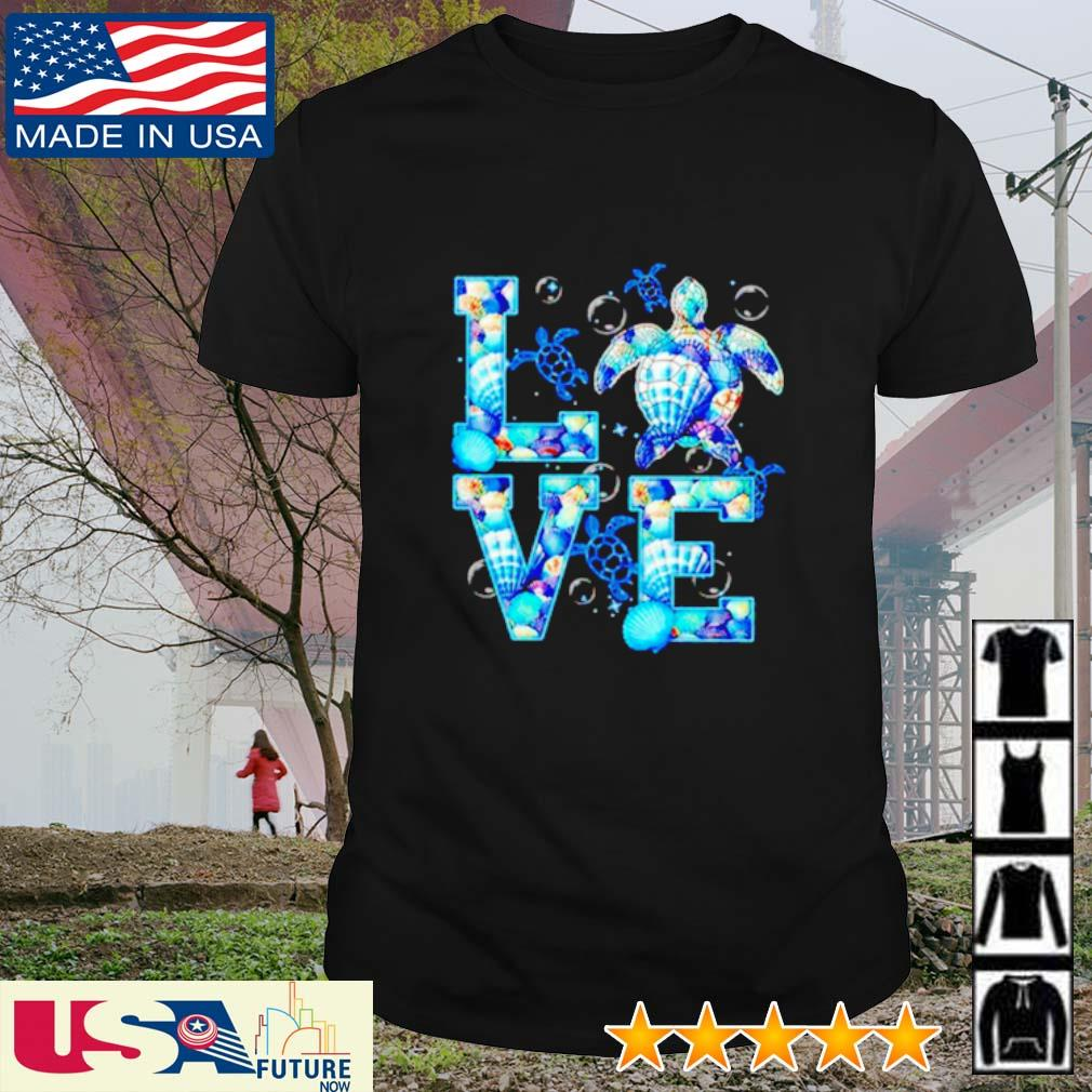 Awesome Turtle Love shirt