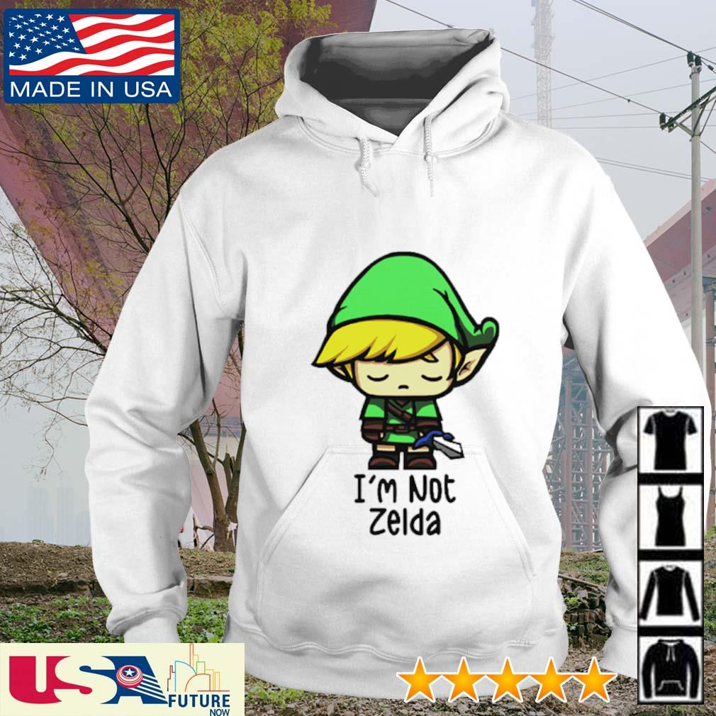 Chibi Zelda I'm not Zelda hoodie