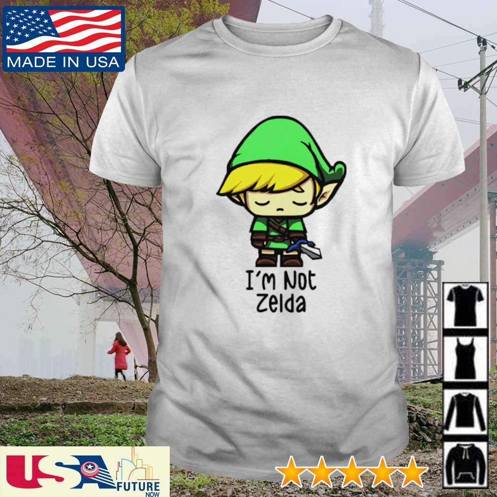 Chibi Zelda I'm not Zelda shirt