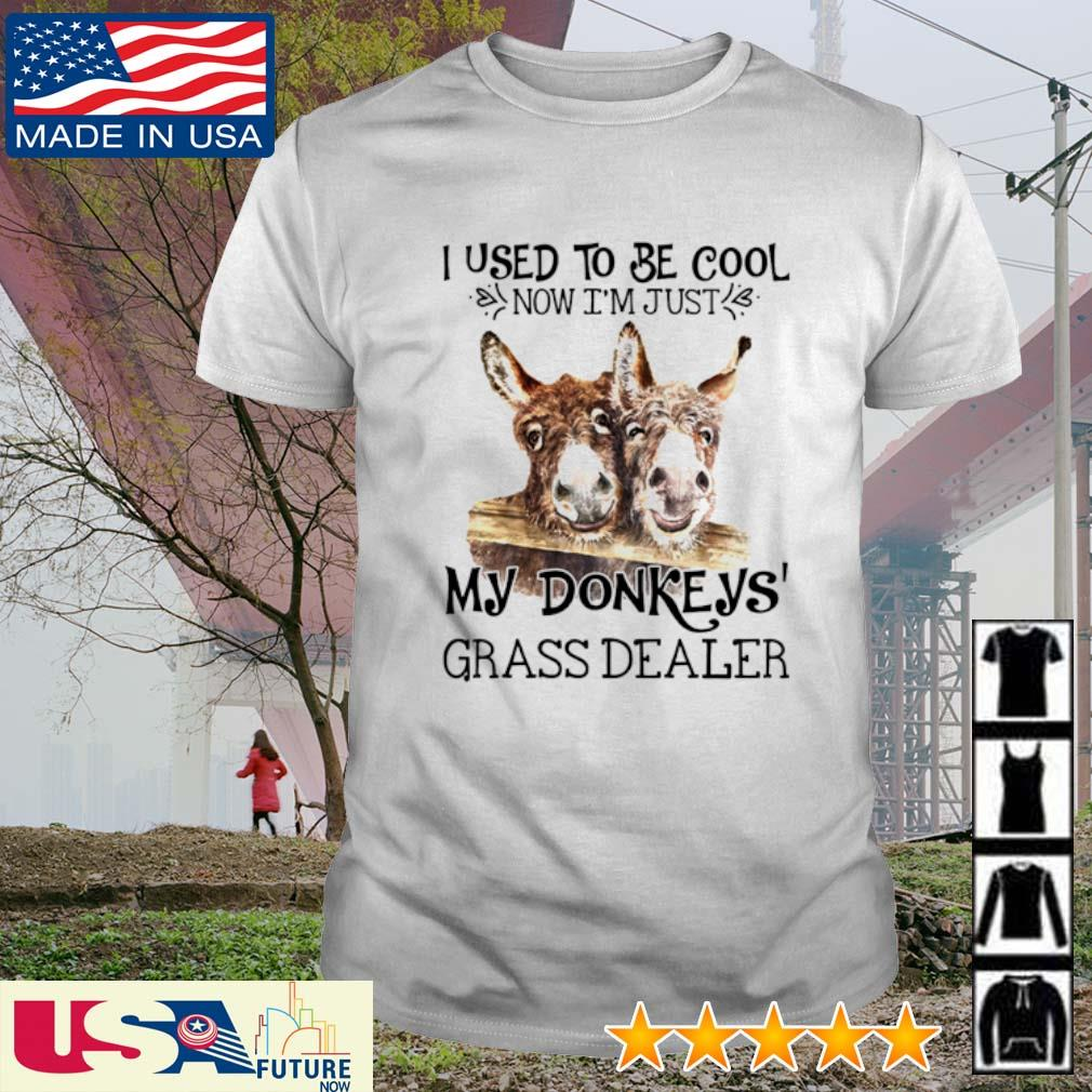 I used to be cool now I'm just my Donkey's grass dealer shirt