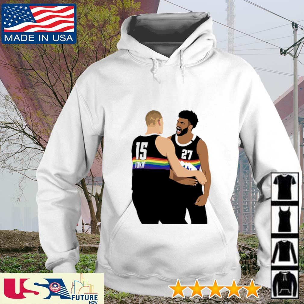 NBA Jam Nuggets Murray and Nikola Jokic hoodie