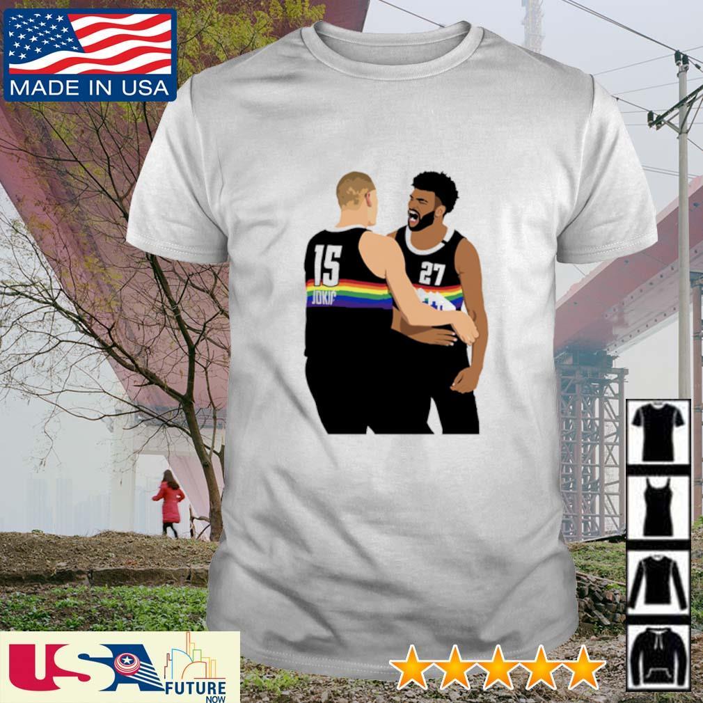 NBA Jam Nuggets Murray and Nikola Jokic shirt