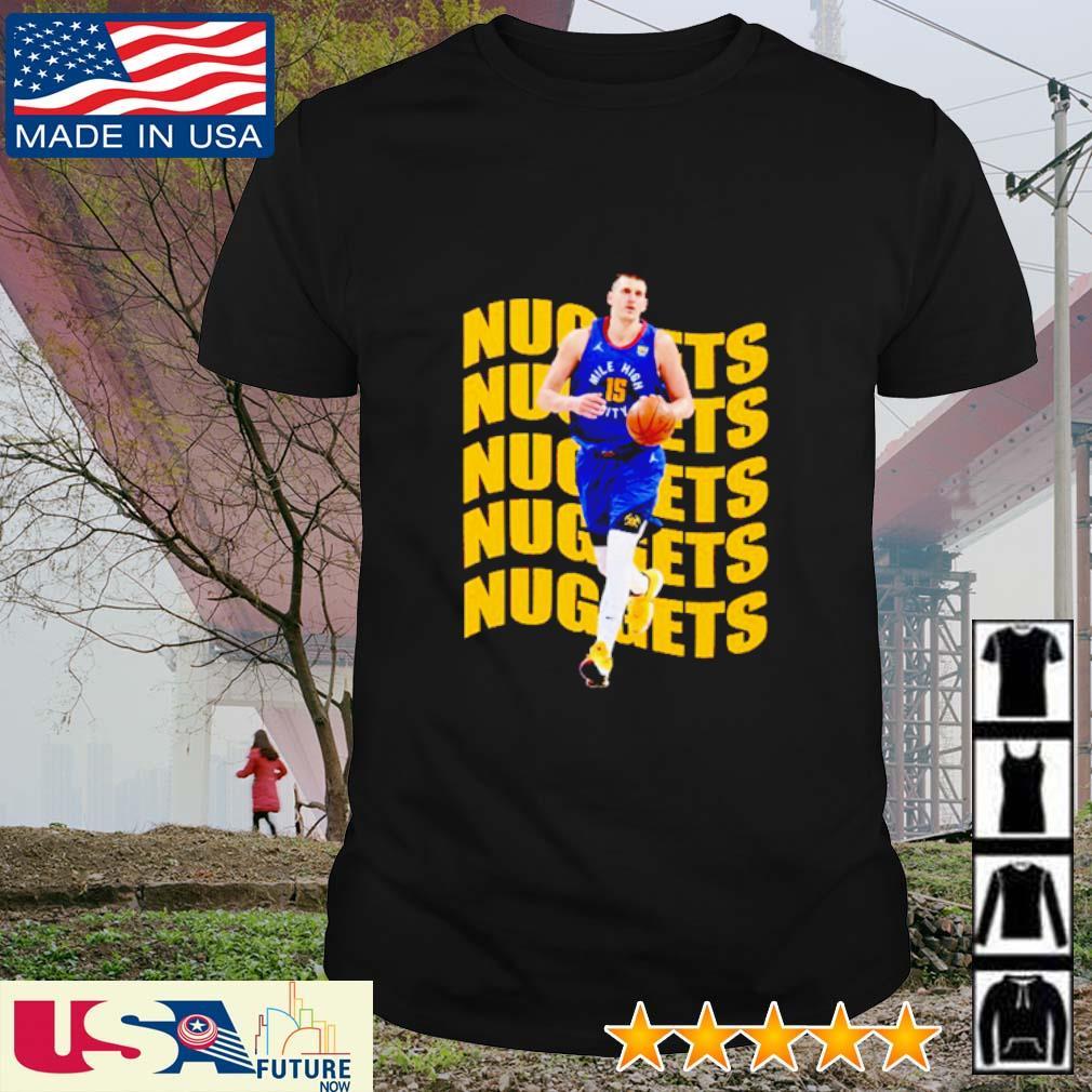 Nikola Jokic MVP NBA Basketbal shirt