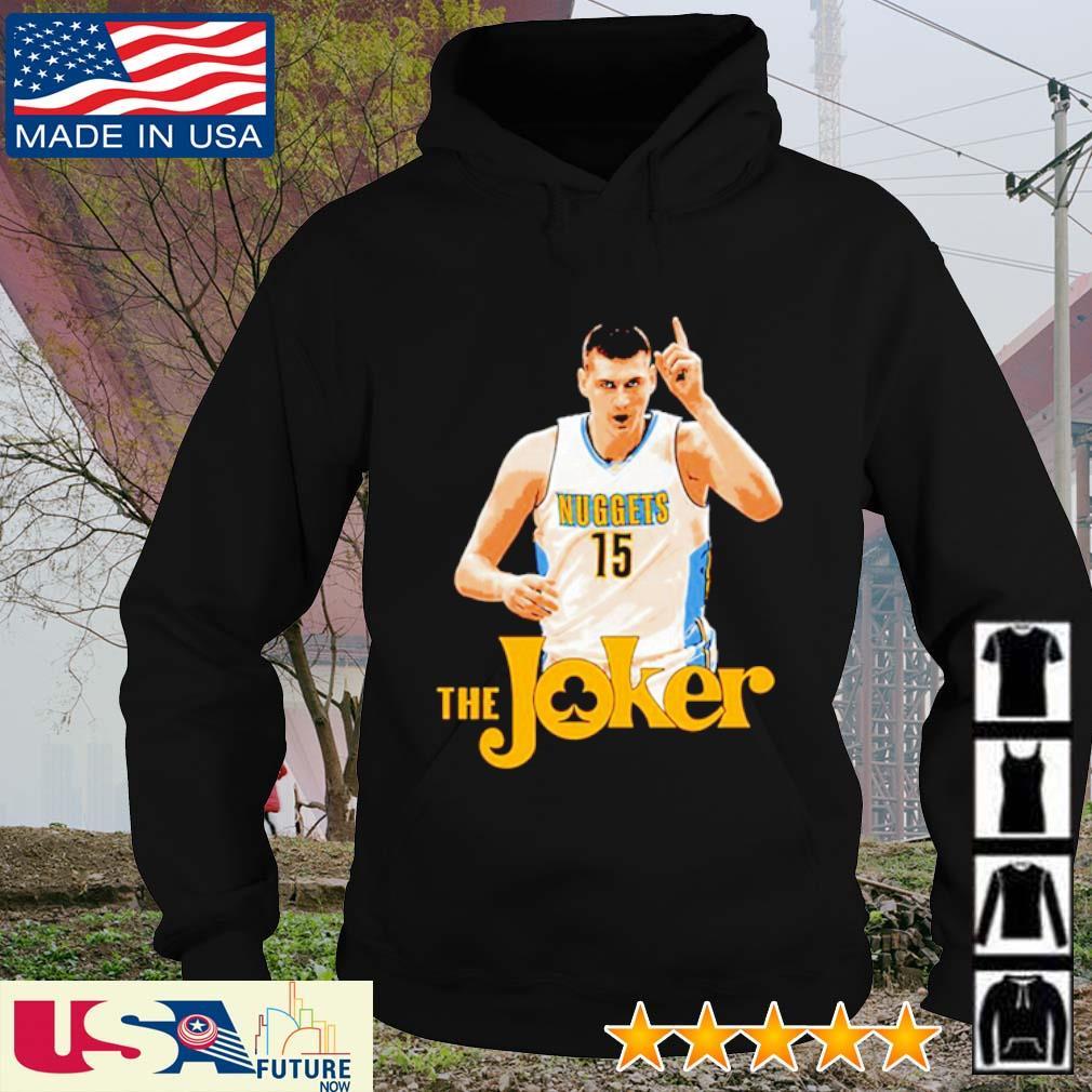 Nikola Jokic the Joker hoodie