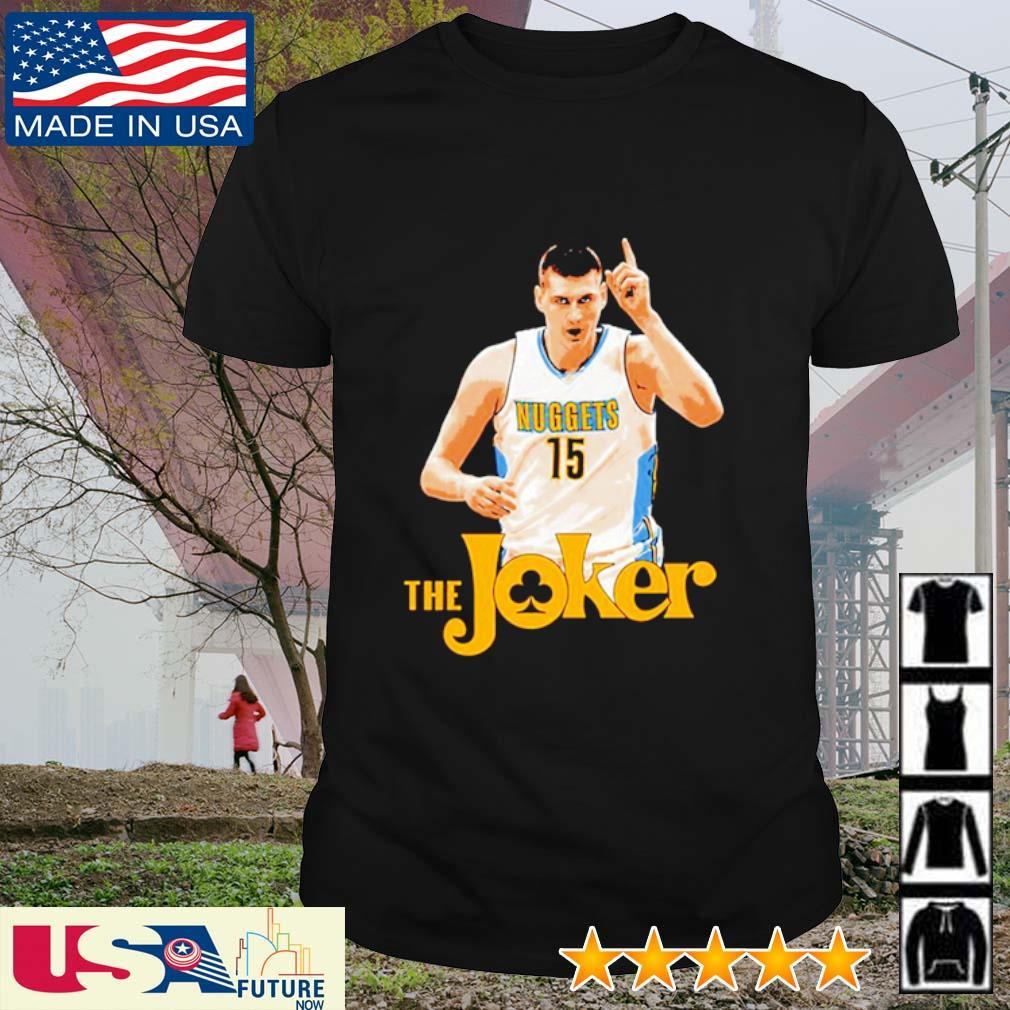 Nikola Jokic the Joker shirt