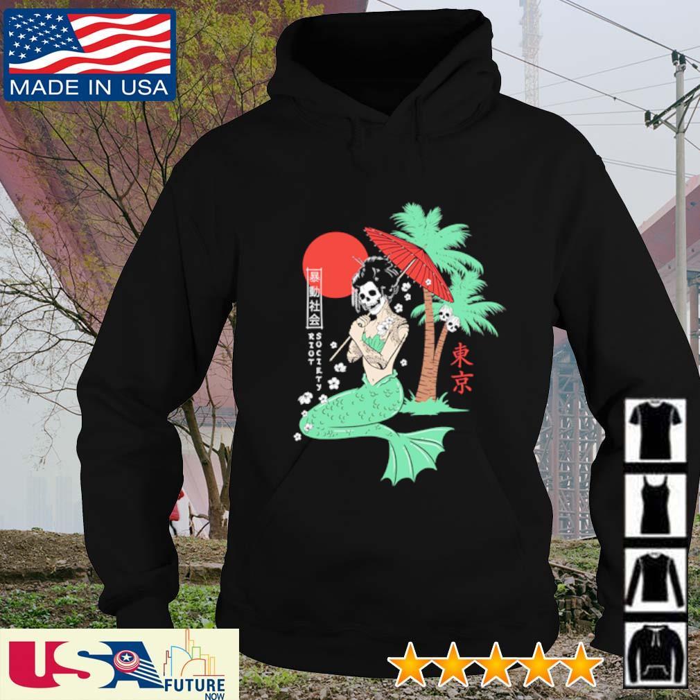 Riot Society Mermaid Geisha hoodie